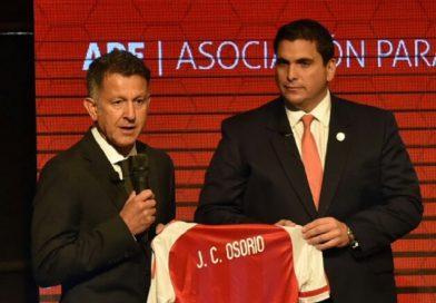 Osorio deja a la Selección Paraguaya