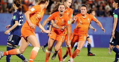 Holanda avanza a Cuartos en Mundial femenil